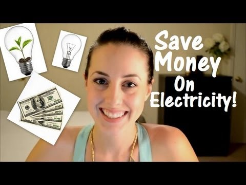 Save Hundreds on Electricity! How We Save Money On Our Electric Bill