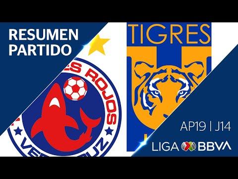 Resumen | Veracruz vs Tigres UANL | Jornada 14 - Apertura 2019  | Liga BBVA MX