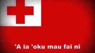 Tongan National Anthem Lyrics