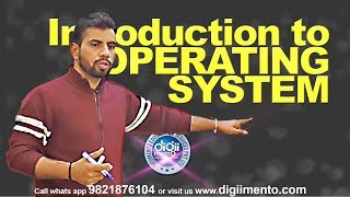 OS 01 Introduction to Operating System - NTA NET Computer Science in Hindi