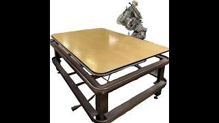 Зашивная машина для окантовки матрасов Spuhl с швейной головкой Kansai Special (Япония) б/у