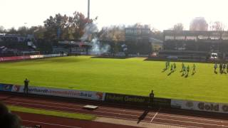 preview picture of video 'SSV Ulm 1846 vs. SSV Reutlingen 08.11.2014'