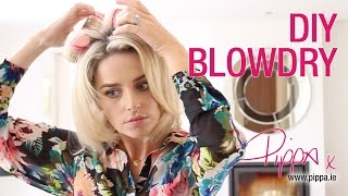 DIY Blow Dry - Ibiza Hair B4, Sleep-In Rollers, Kérastase Styling Gel | PIPPA OCONNOR