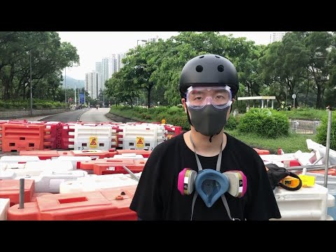 "A self-described ""front line"" protester in Hong Kong urges his fellow citizens to ""stay strong"" during this time of unrest. (Aug. 20)"