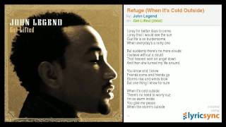 John Legend - Refuge (When It's Cold Outside)