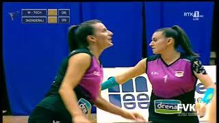 VOLEJBOLL: Superliga (femrat)Finalja 1   M-TECHNOLOGIE vs SKENDERAJ 04.07.2020