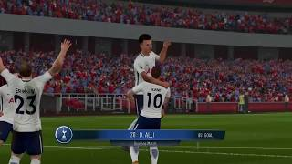 EA Sports FIFA 18 : Nintendo Switch Gameplay [Arsenal vs Spurs]