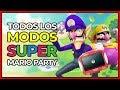 todos Los Modos De Super Mario Party Desbloqueables Mul