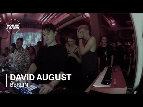 David August Boiler Room Berlin Live Set (видео)
