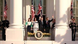 U.K. Official Visit Arrival Ceremony