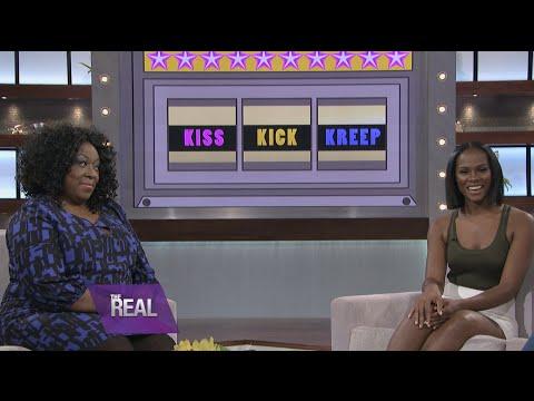 , title : 'Tika Sumpter Plays 'Kiss, Kick, or Kreep?''