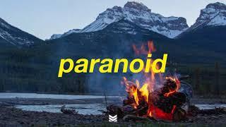 """Paranoid"" - Post Malone Type Beat   prod. Zero x Mantra"
