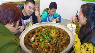 "Sichuan-style ""Taiwanese Pork Rice"", 1kg pork boiled in a pot, mother praised it too delicious!"