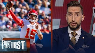 Chiefs loss to Titans inexcusable for a team with Super Bowl hopes — Nick | NFL | FIRST THINGS FIRST