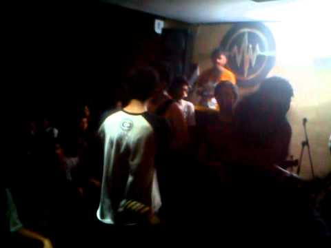 Dance With Zombie - A Death Faint and Break Disco Down (H1N1 cover) live at Java Indah Cafe