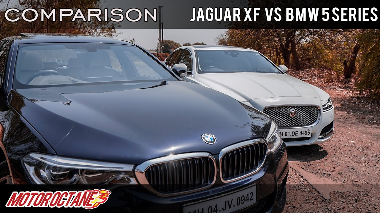 Motoroctane Youtube Video - Jaguar XF vs BMW 5 Series Comparison | Hindi | MotorOctane