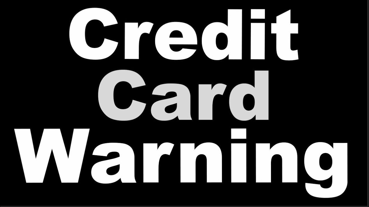 ⚠ Max Those Credit Cards! What SIMPLY Took Place To Banks