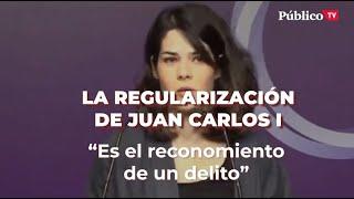 JUAN CARLOS I, INICIA EL RECONOCIMIENTO DE FRAUDE