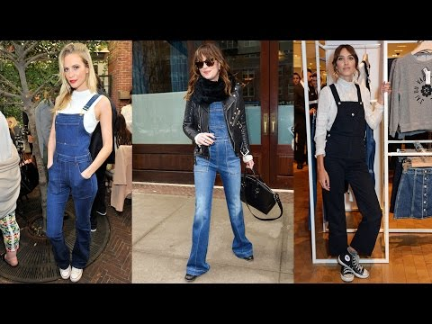 How to Wear Overalls | Celeb Style