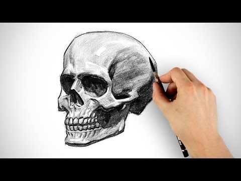 Draw a Skull - Halloween Special