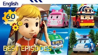 Robocar Poli   Best episodes (English) (60min)   Kids animation