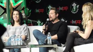 Practical jokes on set with Christy Carlson Romano & Will Friedle (ECCC 2016)