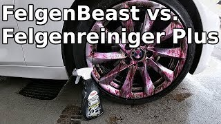 Sonax FelgenBeast vs. Felgenreiniger Plus || Welcher ist der beste Sonax Felgenreiniger?