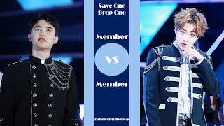 SAVE ONE DROP ONE #2   MEMBER VS MEMBER | K POP GAME