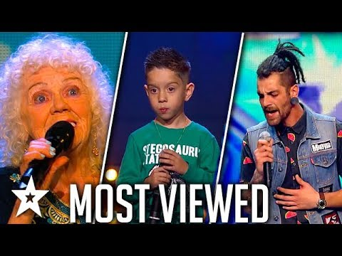 TOP MOST VIEWED Singers Around The World 2018   Got Talent Global (видео)