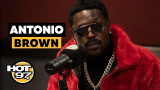 Antonio Brown Opens Up On Latest Troubles, Patriots, Roethlisberger, + Attempts A Freestyle