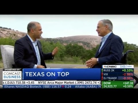 "Texas Named CNBC's ""America's Top State For Business"" For 2018 Thumbnail"
