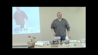 Tom Fleming Demo  Painting A Greenwinged Teal Decoy   January 2016