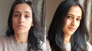 My Minimal Makeup Routine (Indian skin) and Hair Routine | Look beautiful with less makeup ! - Download this Video in MP3, M4A, WEBM, MP4, 3GP