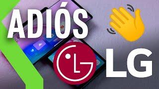 OFICIAL: LG cierra su división de móviles en todo el mundo