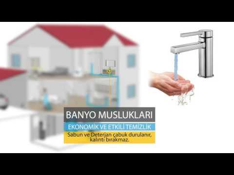 Rainwater Genel Arıtma Sistemleri Villa Apartman Su Yumuşatma Sistemleri