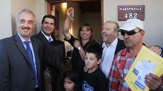 preview picture of video '01 de DIC. Jorge Capitanich entregó viviendas en Coronel Vidal.'