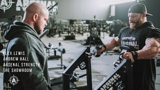 FLEX LEWIS + ANDREW HALL // BACK TRAINING