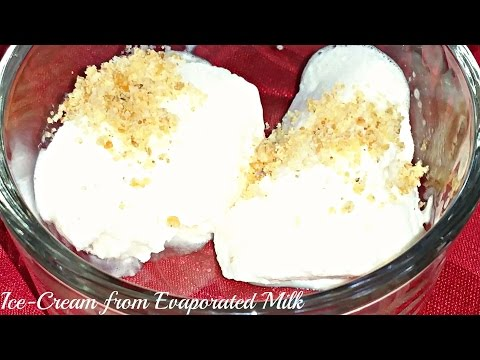Video IceCream with Evaporated Milk