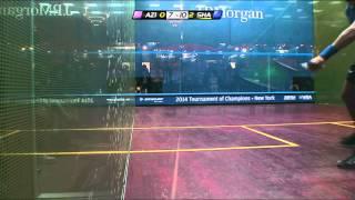 Squash: J.P.Morgan ToC 2014 - Rd1 Roundup, Part 2