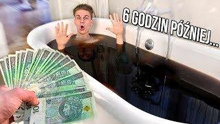 KTO SPĘDZI 24 GODZINY W WANNIE COCA-COLI WYGRYWA 5000 ZŁ! *trudne wyzwanie*