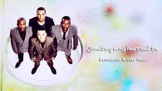 JLS - Innocence Lyrics Video