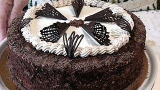 """Торт """"МОЛОЧНАЯ ДЕВОЧКА """".  Нежный молочный торт."""