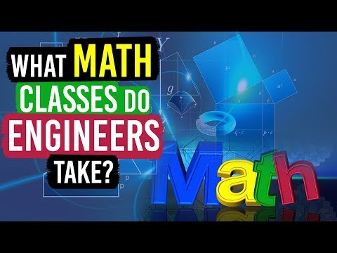 What Math Classes Do Engineers (and Physics Majors) Take?