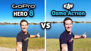 GoPro HERO 8 vs DJI Osmo Action!
