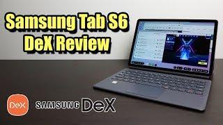 Galaxy Tab S6 DeX Review - Kann dies einen Laptop ersetzen?