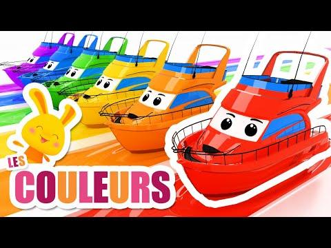 COULEURS - Bateau, voiture, bus, moto - TITOUNIS