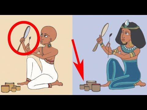Acht vreemde feiten over het gebruik van Make-up in het oude Egypte