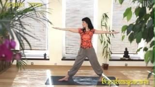 Йога-комплексы - асаны стоя
