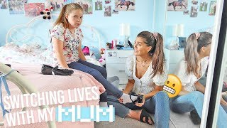 SWITCHING LIVES With My MUM For 24 HOURS!