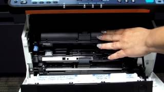 Replacing The Toner Cartridge On A New KYOCERA Desktop MFP Copier